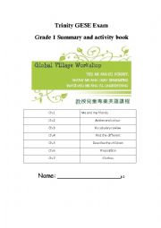 English Worksheet: Trinity GESE Exam Grade 1 review
