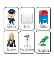 Jobs Card Game [6/8] [Postman - Reporter - Sailor - Secretary]