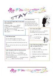 Stay by Rihanna
