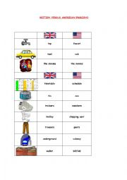 BRITISH VERSUS AMERICAN ENGLISH3