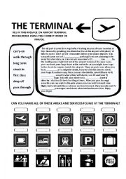 THE TERMINAL WORKSHEET