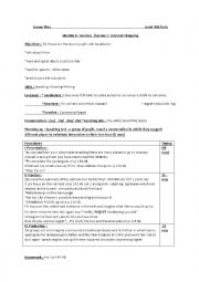 English Worksheet: lesson -plan NEMO let�s watch a film 9th