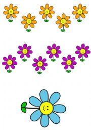 English Worksheet: SPRING FLASCARDS: FLOWERS, NUMBERS, COLOURS, BUGS