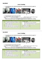 English Worksheet: Unit 4, Lesson 5 Ecodriving