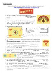 English Worksheet: Understanding Obesity