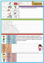 English Worksheet: Exercises for 5th grade TWO PAGES