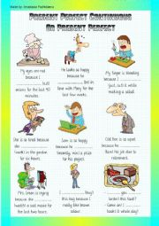 English Worksheet: Present Perfect Continuous and Present Perfect + video