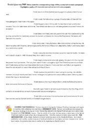English Worksheet: stages in Lord of the Rings - the hero´s journey