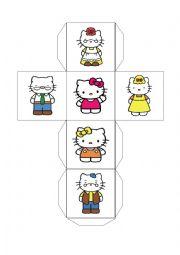 English Worksheet: Hello Kitty�s family
