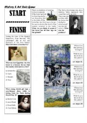 History & Art Quiz Game