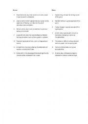 english worksheets genres of literature crossword. Black Bedroom Furniture Sets. Home Design Ideas