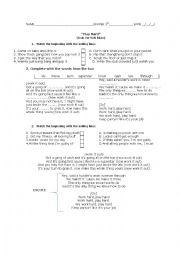 English Worksheet: PlayHard- David Guetta