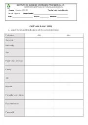 english worksheets film julia e julie writing a recipe. Black Bedroom Furniture Sets. Home Design Ideas