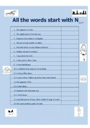 All the Words Start with N
