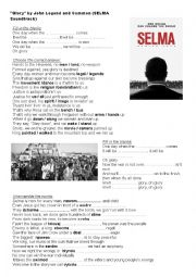 english worksheets glory selma soundtrack by common and john legend. Black Bedroom Furniture Sets. Home Design Ideas