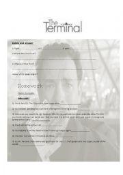 English Worksheet: The Terminal