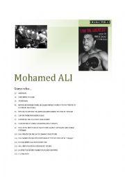 English Worksheet: Guessing game CARD 4/5 Mohamed Ali
