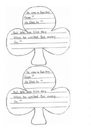 English Worksheet: Limericks fun