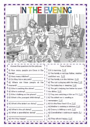 English Worksheet: Speaking and Writing Activity