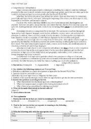 English Worksheet: Education In Japan