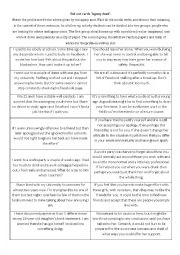 English Worksheet: Agony Aunt