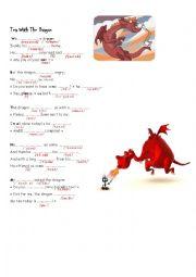 English Worksheet: Poem Tea with the dragon