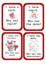 Valentines´ Speaking Cards