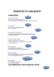 English Worksheet: Cool English Websites