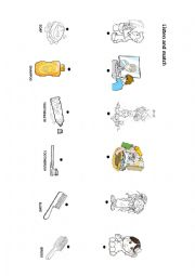 English Worksheet: health and hygiene