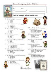 english worksheets reading worksheets page 102. Black Bedroom Furniture Sets. Home Design Ideas