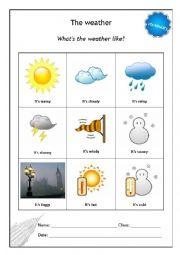 english worksheets the weather worksheets page 36. Black Bedroom Furniture Sets. Home Design Ideas