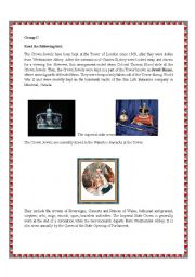 English Worksheet: The Tower of  london-Part 3