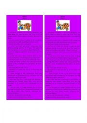 English Worksheet: Information Gap Mason 3/3 ( Jigsaw)