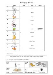 english worksheets the animals worksheets page 576. Black Bedroom Furniture Sets. Home Design Ideas