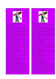 English Worksheet: Information Gap Plumber 3/3 ( Jigsaw)