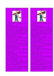 English Worksheet: Information Gap Plumber 3/3 ( Jigsaw)