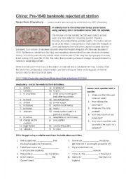English worksheet: Time adverbs: since, for, still, already, yet - news article and questions, grammar exercises