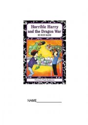 NOVEL STUDY FOR HORRIBLE HARRY AND THE DRAGON WAR
