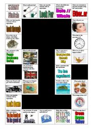 Various activities Board Game 01
