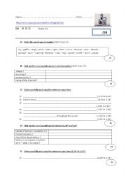 English Worksheet: listening Test BAnksy