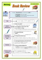 English Worksheet: Book Review