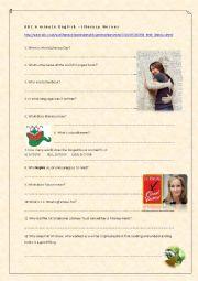 English Worksheet: Literacy Heroes