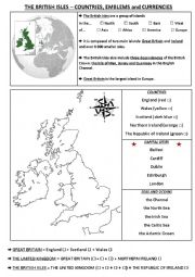 The British Isles - Maps and Geography