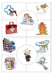 Job puzzles Vet&Waiter