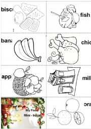 My Food - Mini book 1