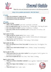 NYC Travel Guide Expedia Comprehension