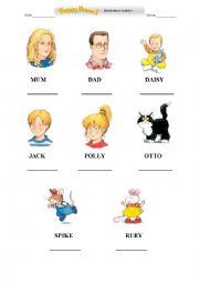 Happy House 1-Unit 1 Vocabulary