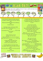 English Worksheet: Eat it!
