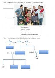 English Worksheet: modern family 1*1