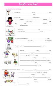 English Worksheet: Let�s revise!